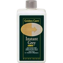 GOLDEN CARE Teak Instant Grau, 1 ltr