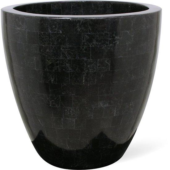 GEO CUP Pflanzschale, 40/38 cm, black polished