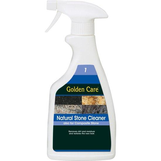 GOLDEN CARE natural stone cleaner, spray, 0.5 ltr