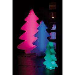 LUMENIO LED tree - oggetto illuminato, 26x8,5/40 cm, transluzent/multicolor L: 8,5 , L: 26 , H: 40 , traslucido/multicolore