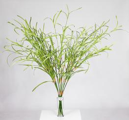 ORCHID LEAVES artificial flower, 163 cm, fringed