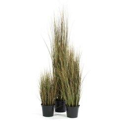 ONION GRASS artificial plant, red/green