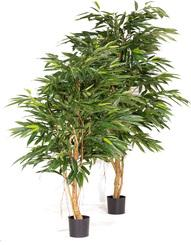 LONGIFOLIA ROYAL artificial plant, 150 cm L: 60 , W: 60 , H: 150 | green-brown