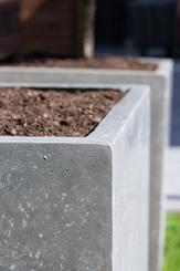 DIVISION PLUS planter, 50x50/54 cm, natural-concrete L: 50 , W: 50 , H: 54 , natural concrete