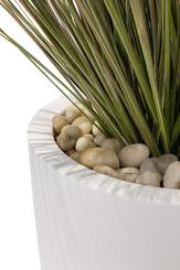 SETS ECONOMY, EASY 43/90 cm matt-white, ONION GRASS 90 cm