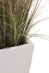 SETS ECONOMY, EASY 40x40/57 cm matt-white, ONION GRASS 60 cm