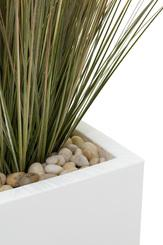 SETS ECONOMY, EASY 40x40/40 cm matt-white, ONION GRASS 90 cm