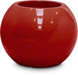 PREMIUM GLOBE planter, 40/32 cm, ruby red L: 40 , W: 40 , H: 32 | ruby red
