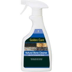 Detergente per pietre naturali GOLDEN CARE, spray, 0,5 lt.